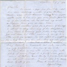 Image of 1983.030.0129 - Letter