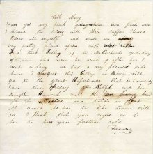 Image of 1983.030.0174 - Letter
