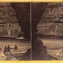 Image of 1983.084.0023 - The Cave. Glens Falls Views. No. 3.