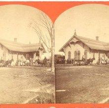 Image of 1983.084.0076 - 697. Glens Falls Depot.