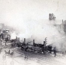Image of 1983.040.0008 - 1884 Fire, Glens Falls.