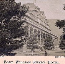 Image of 1983.084.0207 - Fort William Henry Hotel