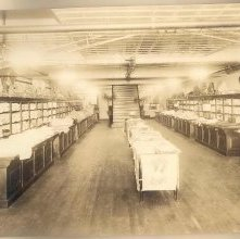Image of 1990.034.0009 - Basement of Goodson Bros.