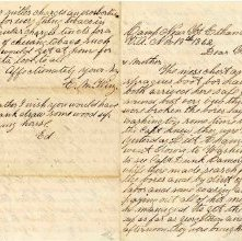 Image of 2006.002.0009 - Letter