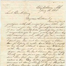 Image of 2006.002.0033 - Letter