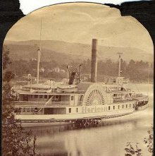 Image of 2011.005.0013a - 275.  Steamer Horicon, Lake George  1877