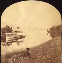Image of 2011.005.0013g - 44. Minne-ha-ha at Black Mountain Point, Lake George