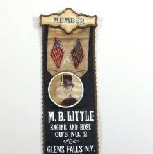 Image of Fireman's Ribbon Badge - 2012.007.0180
