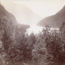 Image of 1977.218.5947 - The Adirondacks, Lower Ausable Lake