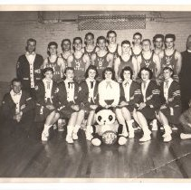 Image of All Saints Church Basketball Team 1959 Champs