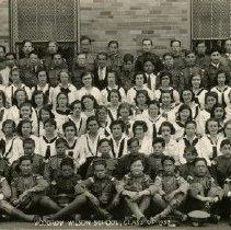 Image of Woodrow Wilson Junior High School class of 1932, 9th grade