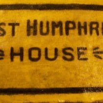 Image of Brick, Decorative - First Humphreys House