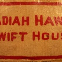 Image of Brick, Decorative - Obadiah Hawes or Swift House