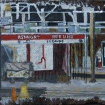 Image of Brick, Decorative - Ashmont MBTA Station