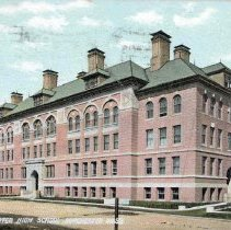 Image of Dorchester High School, Dorchester, Mass. E6430                                                                                                                                                                                                                - 2007.0060.016