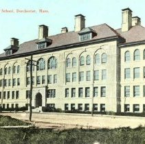 Image of Dorchester High School, Dorchester, Mass.                                                                                                                                                                                                                      - 2007.0060.017