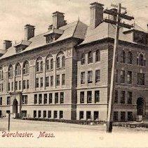 Image of High School, Dorchester, Mass.                                                                                                                                                                                                                                 - 2007.0060.032
