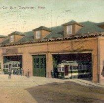 Image of Milton Station Car Barn                                                                                                                                                                                                                                        - 2007.0060.037