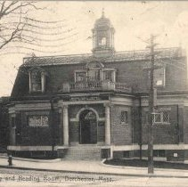 Image of Public Library and Reading Room, Dorchester, Mass. - 2007.0060.050