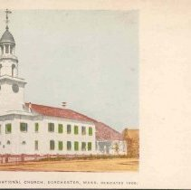 Image of Second Congregational Church, dedicated 1806                                                                                                                                                                               - 2007.0060.058