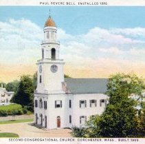 Image of Paul Revere Bell, installed 1816, Second Congregational Church, built 1805                                                                                                                                                                                 - 2007.0060.060