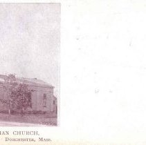 Image of Unitarian Church. Richmond St., Dorchester, Mass.                                                                                                                                                                                                       - 2007.0060.071