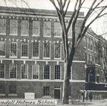 Image of Oliver Wendell Holmes School                                                                                                                                                                                                                                   - 2007.0060.079