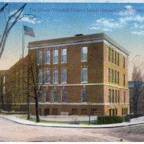 Image of The Oliver Wendell Holmes School, Howard St., Dorchester, Mass.                                                                                                                                                                                          - 2007.0060.081