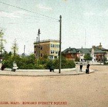 Image of Dorchester, Mass. Edward Everett Square                                                                                                                                                                                                                    - 2007.0060.083