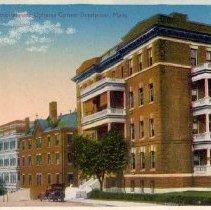 Image of St. Margarite Hospital near Uphams Corner, Dorchester, Mass.                                                                                                                                                                                               - 2007.0060.088