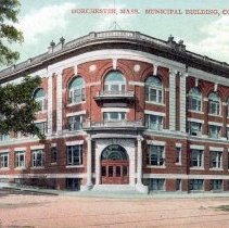 Image of Dorchester, Mass. Municipal Building, Columbia Road - 2007.0060.097