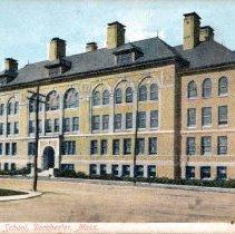 Image of Dorchester High School, Dorchester, Mass.                                                                                                                                                                                                                      - 2007.0060.106