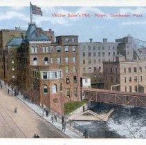 Image of Walter Baker's Mill, Baker Chocolate, Milton, Dorchester, Mass.                                                                                                                                                                                            - 2007.0060.116
