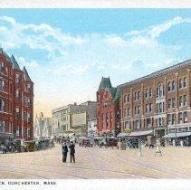 Image of Uphams Corner, Dorchester, Mass.                                                                                                                                                                                                                               - 2007.0060.124