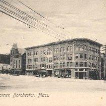 Image of Uphams Corner, Dorchester, Mass.                                                                                                                                                                                                                               - 2007.0060.127