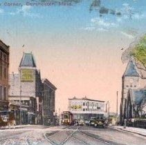 Image of Uphams Corner, Dorchester, Mass.                                                                                                                                                                                                                               - 2007.0060.128