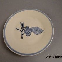 Image of Plate, Decorative - Reproduction Plate