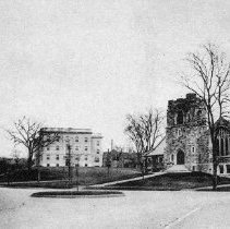 Image of 1200.01.08 - Winchester, Mass. Parkway, High School and Unitarian Church