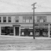 Image of 1200.01.34 - Lane Building, Church Street, Winchester, Mass.
