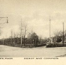 Image of 1200.01.41 - Depot and Common, Winchester, Mass.