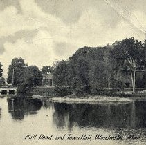 Image of Mill Pond and Town Hall