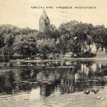 Image of 1200.01.48 - Aberjona River, Winchester, Mass.