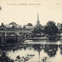Image of 1200.01.49 - Mill Pond, Winchester, Mass.