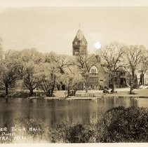 Image of 1200.01.85 - Winchester Town Hall and Mill Pond, Winchester, Mass.