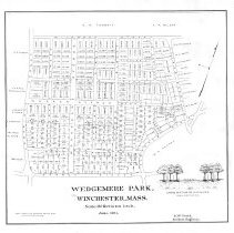 Image of Wedgemere Park, Winchester, Mass. June 1891