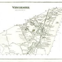 Image of Winchester 1875 [J.B. Beers & Co. atlas]