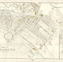 Image of 1300.24 - Part of Winchester [George Walker Atlas, 1889]