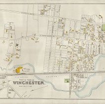 Image of 1300.25 - Part of town of Winchester [George H. Walker Atlas, 1889]