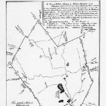 Image of 1300.26 - A Plan of Woburn, Surveyed in October & September 1794.