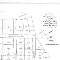 Image of Plan of Building Lots